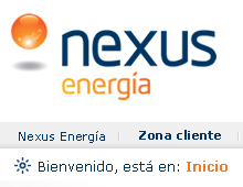 Nexus Energía website