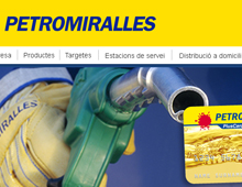Petromiralles website