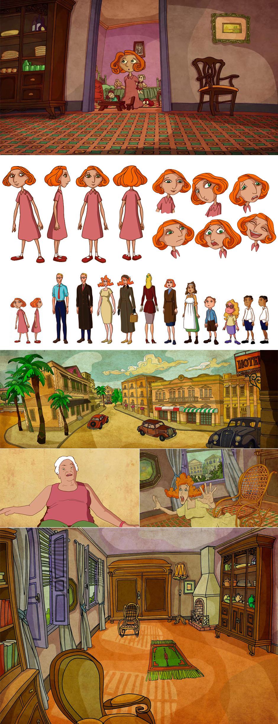 Cuentos de Viejos 2 - Episodio 11 - Concept design